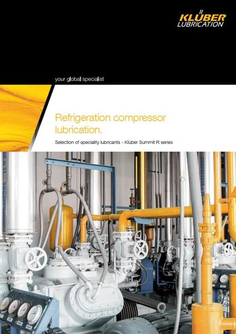 Refrigeration Compressor Lubrication