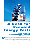 A Need for Reduced Energy Costs: options abound for increased efficiency in lubrication
