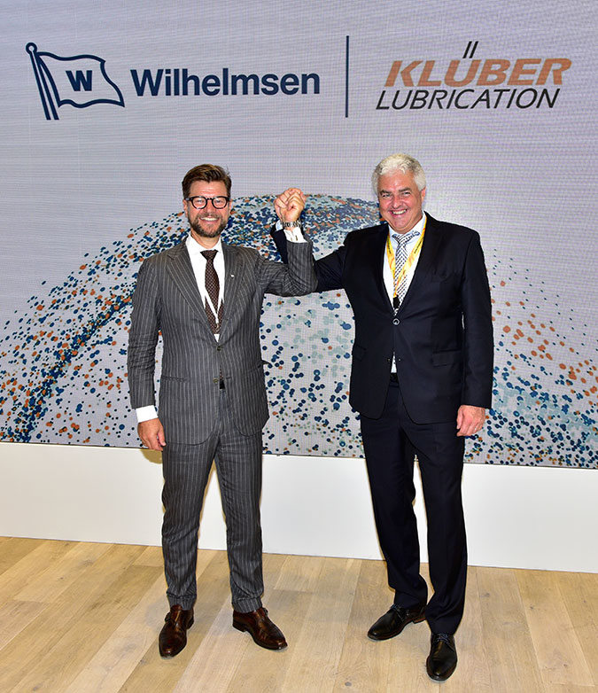 Wilhelmsen strengthens portfolio with Klüber Lubrication partnership